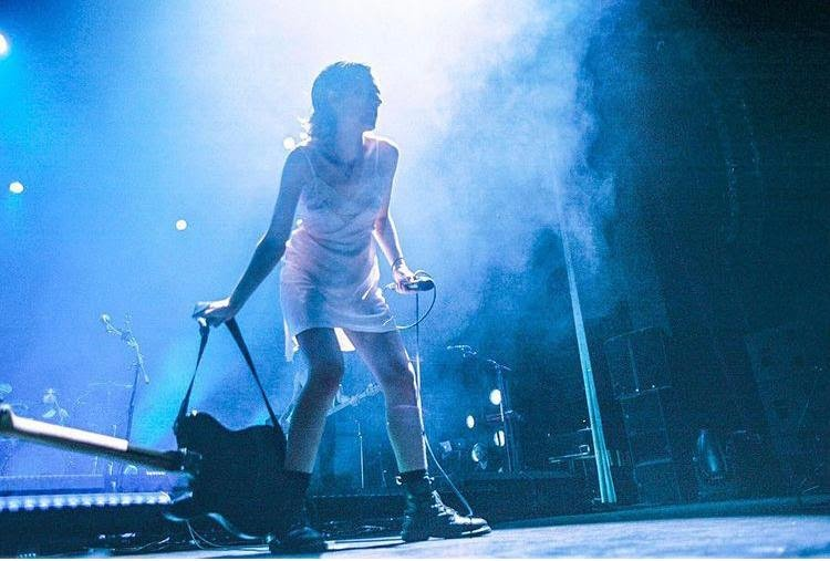 Wolf Alice live on stage